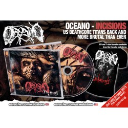 Oceano Pack 1 - Any CD + Any T-shirt or Sweatshirt