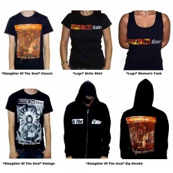 At The Gates Pack 2 - Any 3 T-shirts or Hoodies