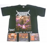 Bonded By Blood Pack 1 - Any T-shirt + All 3 CDs
