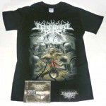 "Cerebral Bore Pack 2 - ""Maniacal Miscreation"" CD + Any T-shirt + Optional Woven Patch"