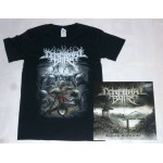 "Cerebral Bore Pack 1 - ""Maniacal Miscreation"" Colour Vinyl + Any T-shirt"