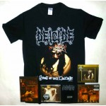 Deicide Pack 2 - Any T-shirt or Hoodie + All 3 CDs, 2 DVDs + Optional Woven Patch + Sweatband