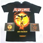Enforcer Pack 2 - T-shirt + Both CDs + Optional Woven Patch