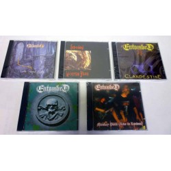 "Entombed Pack - All 5 CDs inc. Free ""The Best Of Entombed"" CD"
