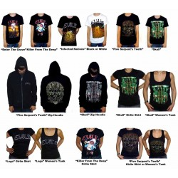 Evile Pack 6 - Any 3 T-shirts or Hoodies