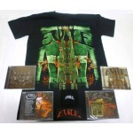 Evile Pack 2 - Any T-shirt + 4 CDs + Optional Woven Patch + Sweatband