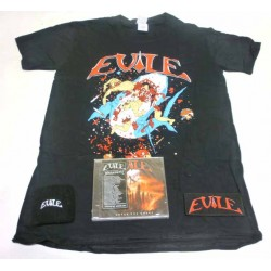 Evile Pack 4 - Any T-shirt + Any CD