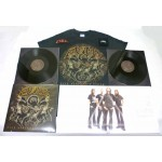 Evile Pack 3 - Any T-shirt + Any Vinyl + Optional Woven Patch and Sweatband