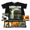 Godflesh Pack 2 - Any T-shirt, 11 CDS, 1 DVD + Optional Woven Patch