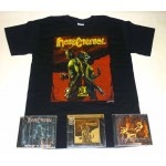 Hate Eternal Pack 1 - T-shirt + 3 CDs + 1 DVD