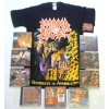 Morbid Angel Pack 2 - Any T-shirt or Hoodie, All 9 CDs + Optional Woven Patch