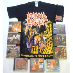 Morbid Angel Pack 1 - Any T-shirt or Hoodie + All 9 Albums