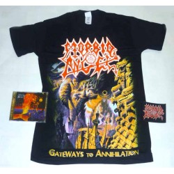 Morbid Angel Pack 4 - Any T-shirt + Any CD