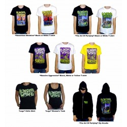 Municipal Waste Pack 4 - Any 3 T-shirts or Hoodies