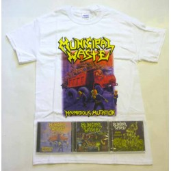 Municipal Waste Pack 1 - Any T-shirt + All 3 CDs