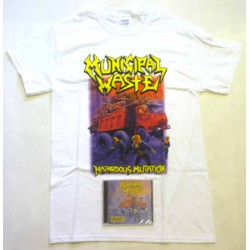 Municipal Waste Pack 2 - Any CD + Any T-shirt