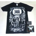 Napalm Death Pack 1 - Any CD + Any T-shirt or Hoodie + Optional Woven Patch