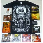 Napalm Death Pack 2 - Any T-shirt or Hoodie, All 15 CDs, 1 DVD + Optional Woven Patch