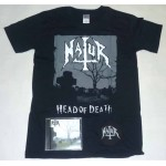 "Natur Pack 1 - ""Head Of Death"" CD, Any T-shirt + Optional Woven Patch"