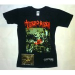 """Terrorizer Pack - """"World Downfall"""" CD + T-shirt or Hoodie, with Optional Woven Patch"""