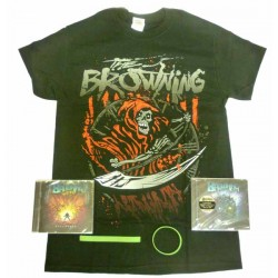 The Browning Pack 1 - Any T-shirt + Both CDs + Optional Bracelet
