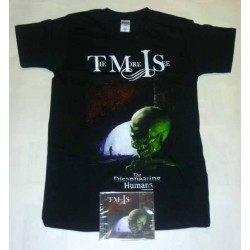 "The More I See Pack 2 - ""The Disappearing Humans"" CD + Any T-shirt"