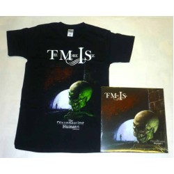 "The More I See Pack 1 - ""The Disappearing Humans"" Ltd Edition Colour Vinyl + Any T-shirt"