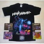 White Wizzard Pack 1 - Any T-shirt + 4 CDs