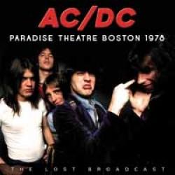 "AC/DC ""Paradise Theatre Boston 1978"" CD"