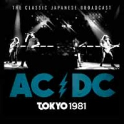 "AC/DC ""Tokyo 1981"" CD"
