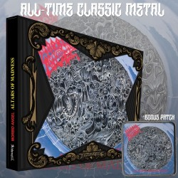 """Morbid Angel """"Altars of Madness"""" Slipcase CD with Album Cover Patch"""