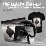 "The White Buffalo ""Love And The Death Of Damnation"" SIGNED CD w/ 3 Bonus Tracks + T-shirt - PRE-ORDER"