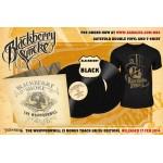 "Blackberry Smoke ""The Whippoorwill"" Gatefold 2x12"" Black Vinyl (3 Bonus Track UK/EU Edition) + ""Skull & Tophat"" T-shirt"