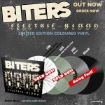 "Biters ""Electric Blood"" Limited Edition Colour Vinyl"