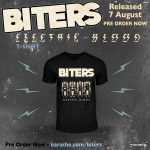 """Biters """"Electric Blood"""" T-Shirt"""