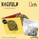 """Kagoule """"Urth"""" Limited Edition Digipak CD - Exclusive Hand-Signed Artwork"""