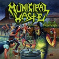 "Municipal Waste ""The Art of Partying"" CD"