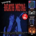 Earache Death Metal Box - 4 Classic albums by Deicide, Morbid Angel, Entombed and Napalm Death - DAMAGED BOX