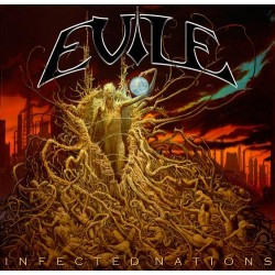 "Evile ""Infected Nations"" Gatefold Double 12"" Black Vinyl"
