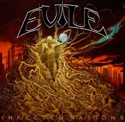 "Evile ""Infected Nations"" CD"