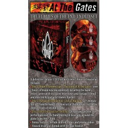 """At The Gates """"The Flames Of The End"""" 3 DVD Box Set"""