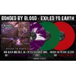 """Bonded By Blood """"Exiled To Earth"""" Limited Edition Vinyl"""
