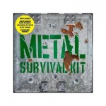 Metal Survival Kit - 3 CDs, 1 DVD, Patch, Keyring, Stickers + Earplugs in one awesome box!