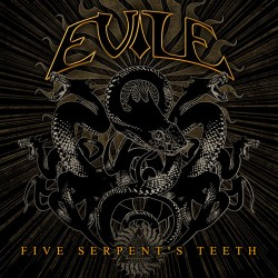 "Evile ""Five Serpents Teeth"" CD"