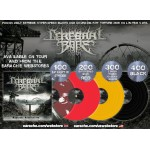"""Cerebral Bore """"Maniacal Miscreation"""" Limited Edition Color Vinyl"""