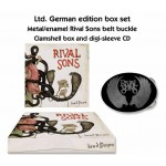 "Rival Sons ""Head Down"" Limited Edition Clam Box CD with Belt Buckle"