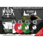 "Natur ""Head Of Death"" Gatefold Pop-Up Sleeve Color Vinyl"
