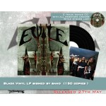 "Evile ""Skull"" Signed Black Vinyl - Webstore Exclusive - 150 copies only!"