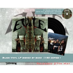 "Evile ""Skull"" Signed Black Vinyl - Webstore Exclusive - 150 copies only!"