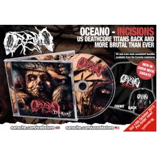 "Oceano ""Incisions"" CD + Crew Neck Sweatshirt"